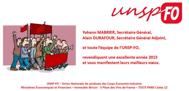 Carte voeux UNSP 2015